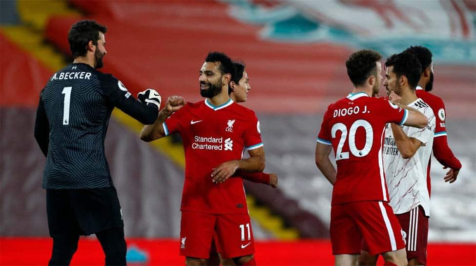 Premier League: Substitute Diogo Jota strikes as Liverpool beat Arsenal 3-1