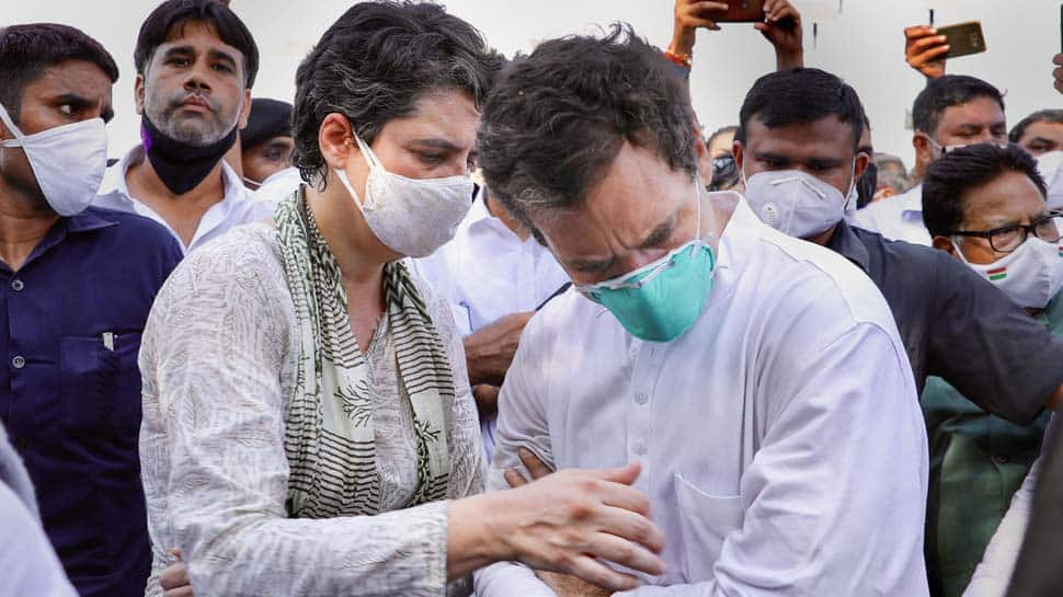 FIR filed against Rahul Gandhi, Priyanka Gandhi and over 200 party leaders for violating prohibitory orders on way to Hathras