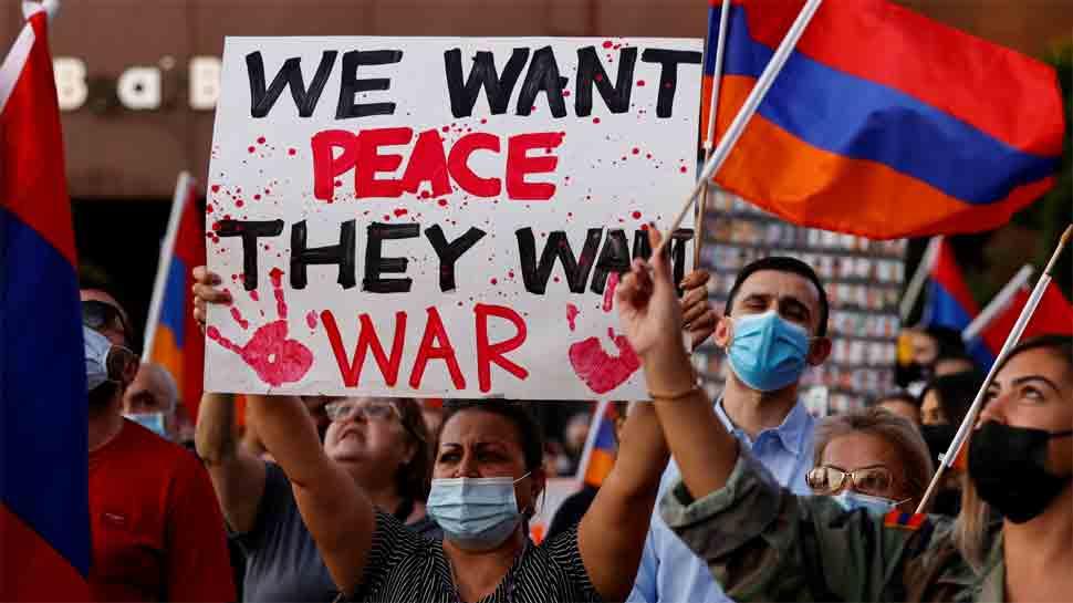 Azerbaijan denies Armenia claim of shooting down Azeri warplane, 2 drones
