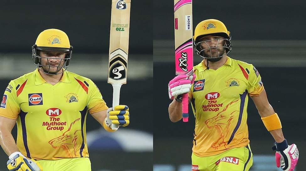 IPL 2020 Match 18: Faf du Plessis, Shane Watson shine as CSK crush KXIP by 10 wickets