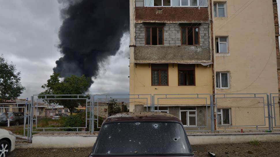 Nagorno-Karabakh: Azerbaijan leader demands Armenia's apology and withdrawal to end war