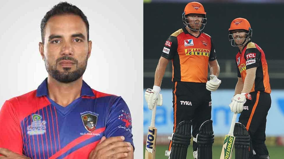 IPL 13: SRH players don black armbands in memory of late cricketer Najeeb Tarakai