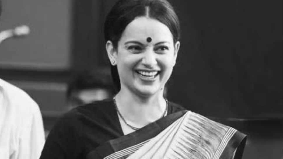 Kangana Ranaut Shares Picture From Thalaivi Film Based on Tamil Nadu leader Jayaram Jayalalithaa: