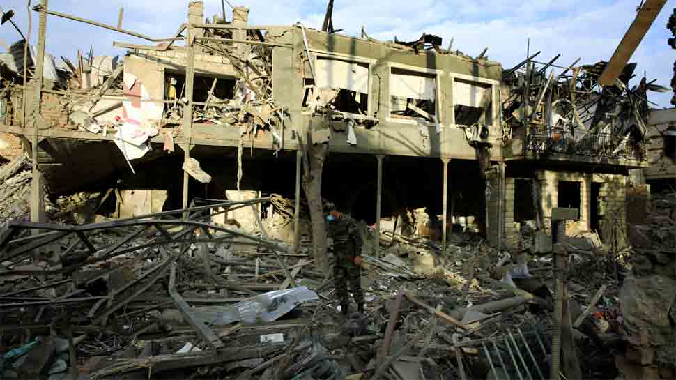 Azerbaijan accuses Armenia of missile attack on Ganja despite truce, claims 9 dead