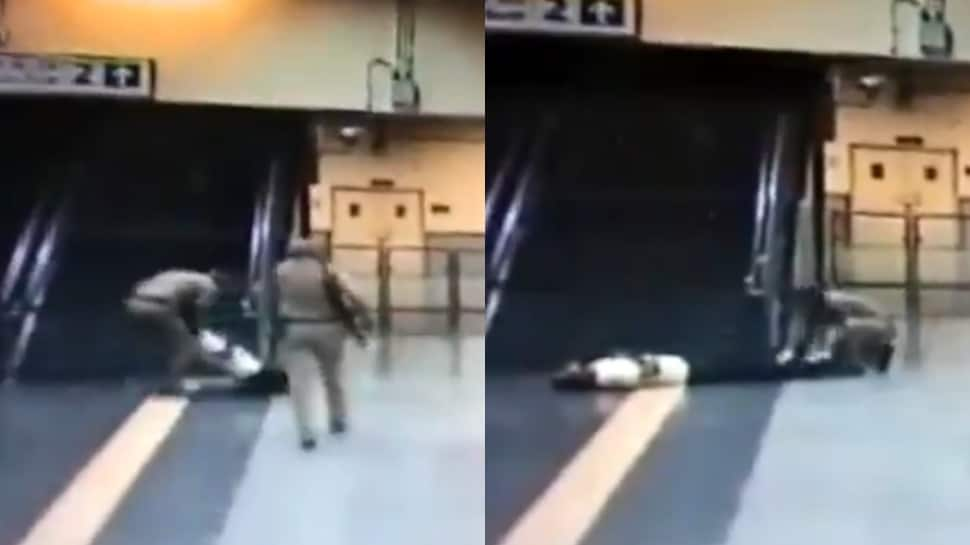 CISF personnel saves passenger's life by giving CPR at Delhi Metro's Ghitorni station; watch