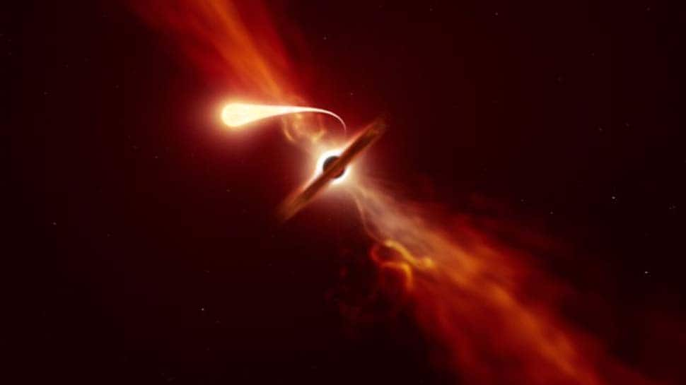 Black hole devours Sun-sized star, astronomers capture exact moment: Watch