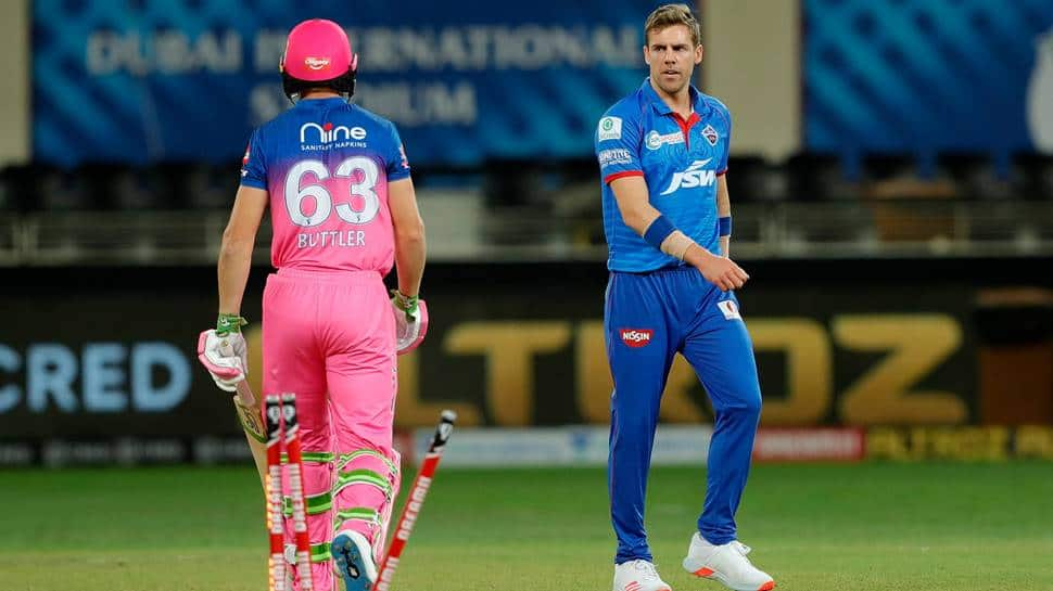 IPL 2020: DC's epic reply to RR after Anrich Nortje bowls fastest ball in tournament history