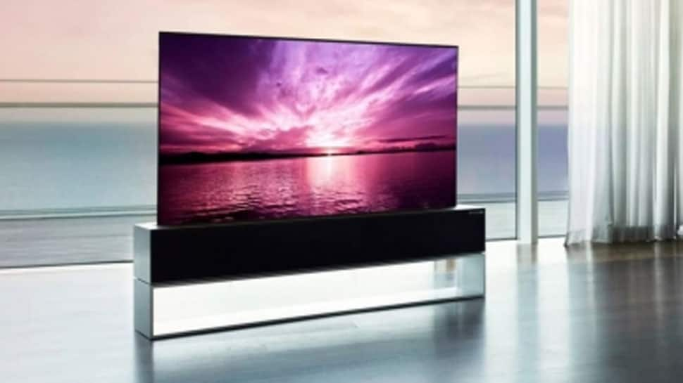 LG launches world's 1st rollable TV for whopping Rs 64 lakh