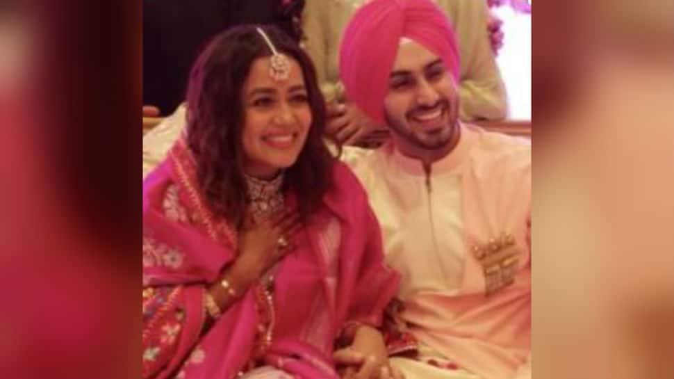 Viral video from Neha Kakkar and Rohanpreet Singh's roka ceremony lights up the internet