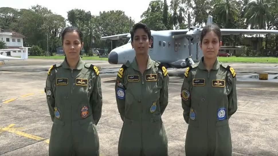 Indian Navy's first batch of women pilots soar high on Dornier aircraft