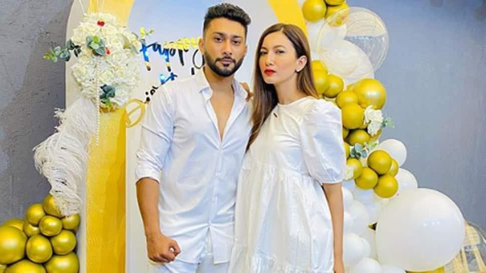 Gauahar Khan wishes beau Zaid Darbar on birthday with a heartfelt note, both twin in pristine white - Pics