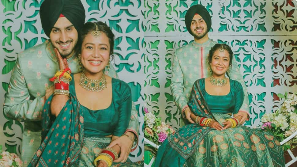 Neha Kakkar and Rohanpreet Singh get married in Delhi, traditional Anand Karaj ceremony videos throng internet - Watch