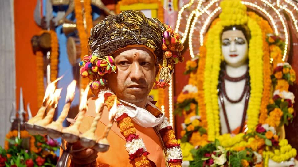Uttar Pradesh CM Yogi Adityanath performs 'Kanya Pujan', extends wishes on Dussehra