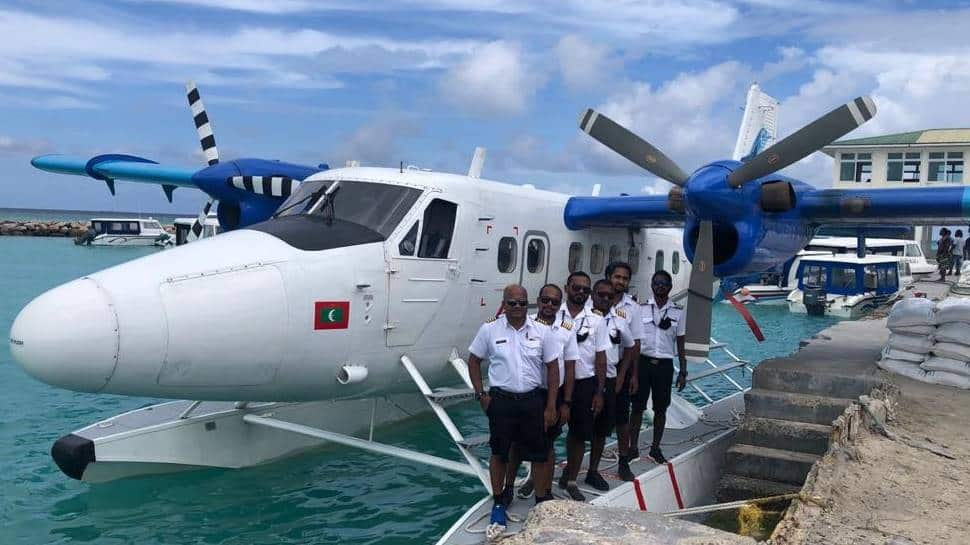 Seaplane from Maldives makes successfully landing at Kochi on technical halt enroute to Gujarat