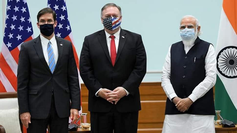 US Secretary of State Mike Pompeo, Defence Secy Mark Esper call on PM Narendra Modi