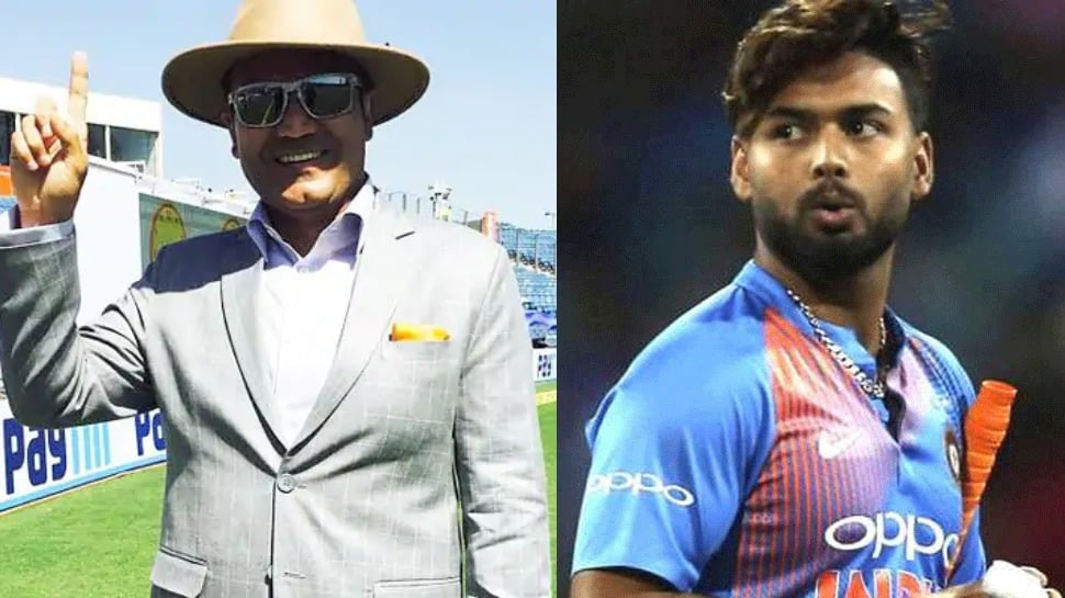 Virender Sehwag's advice to Rishabh Pant after his omission from ODIs, T20Is against Australia
