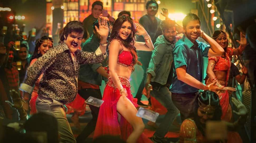 Manoj Bajpayee and sizzler Karishma Tanna get grooving to 'Basanti' song from Suraj Pe Mangal Bhari - Watch