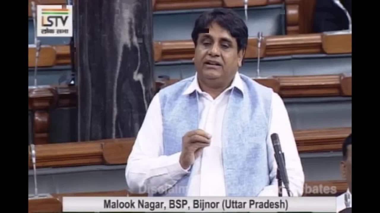 Income Tax department raids BSP MP Malook Nagar's premises at several places