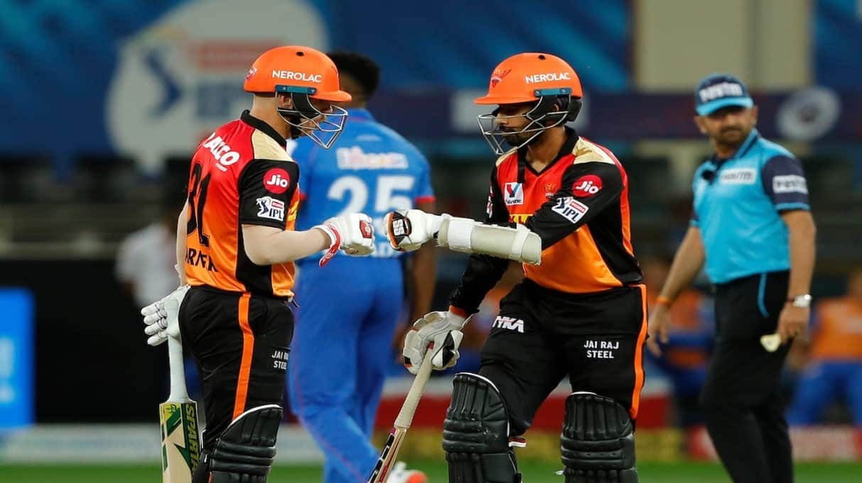 Indian Premier League 2020: Here's what SunRisers Hyderabad skipper David Warner told Wriddhiman Saha before he went out to bat against Delhi Capitals