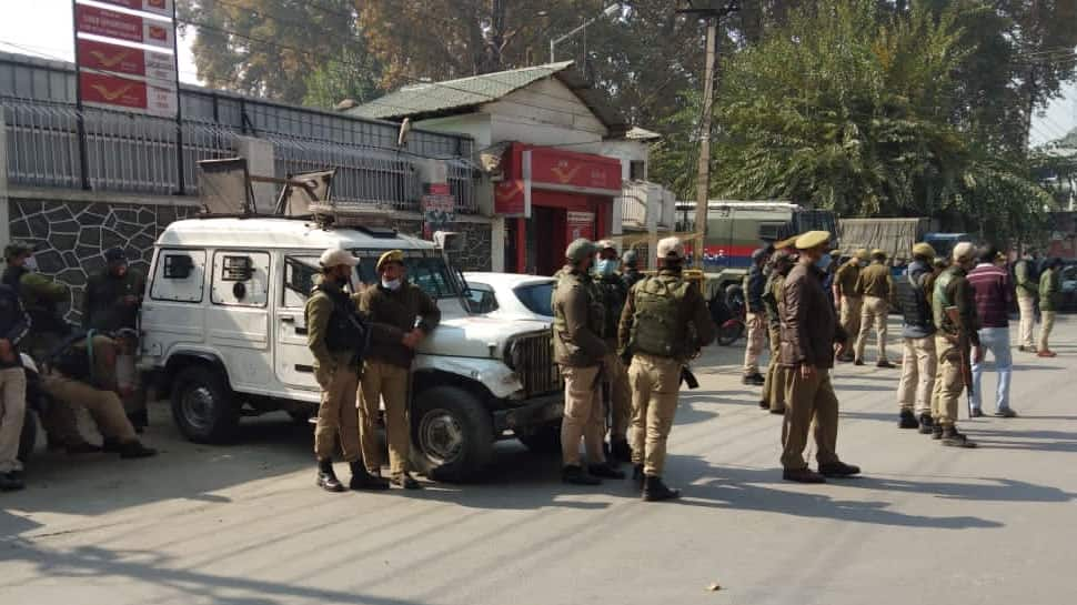 PDP's protest against new J&K land laws foiled, several detained