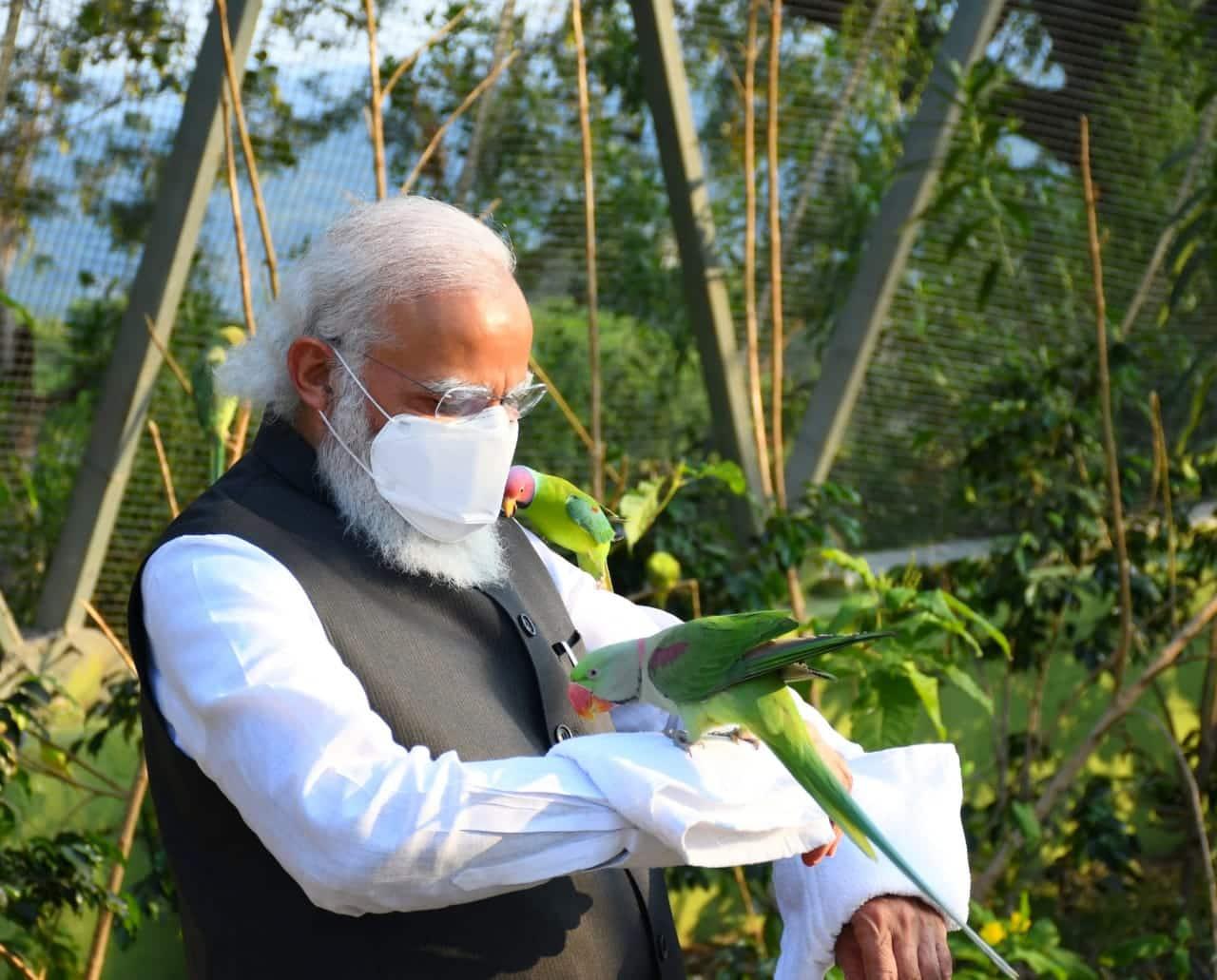 PM Narendra Modi Kevadia