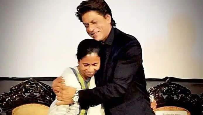 Mamata Banerjee wishes Shah Rukh Khan on birthday, calls him 'charming brother'