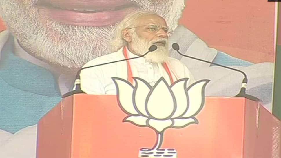 Arrogance losing in Bihar and hard work is winning, says PM Narendra Modi amid voting