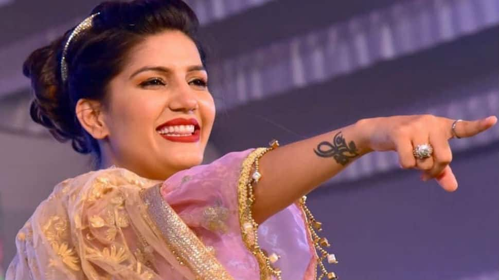 Sapna Choudhary's bridal avatar in old song 'Mera Chand' goes viral on Karwa Chauth - Watch