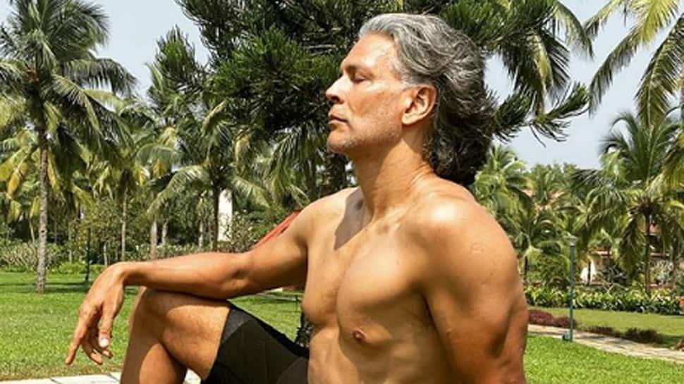 Milind Soman goes full monty on birthday, runs naked on the beach!