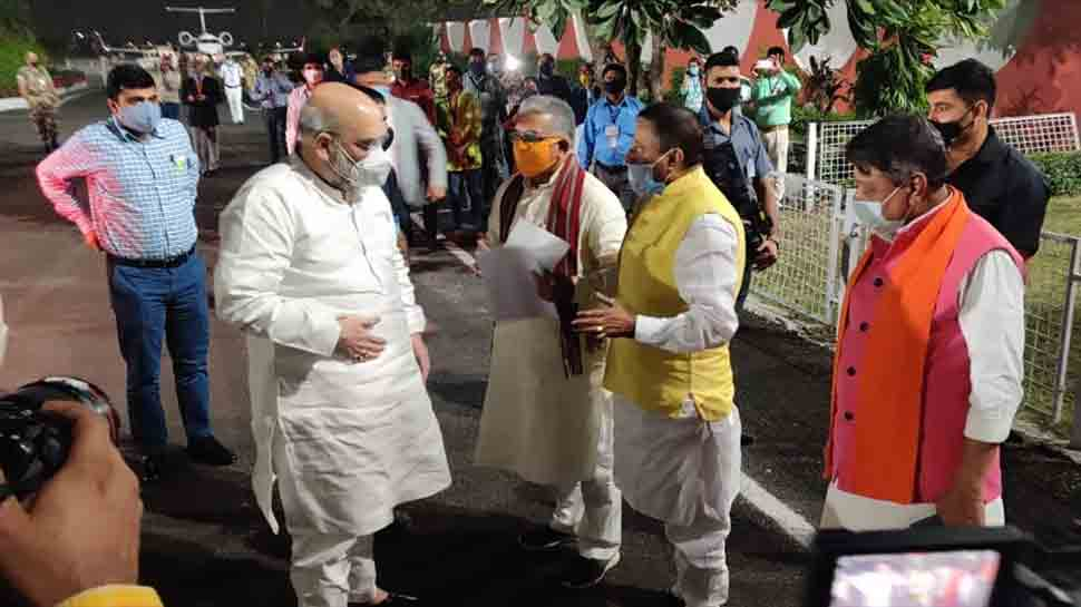 Amit Shah to visit Dakshineswar Kali Temple, have lunch with refugees on day 2 visit to West Bengal