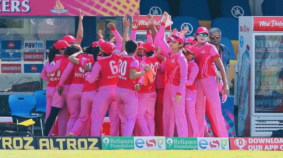 Women's T20 Challenge: Supernovas beat Trailblazers by 2 runs; both qualify for final