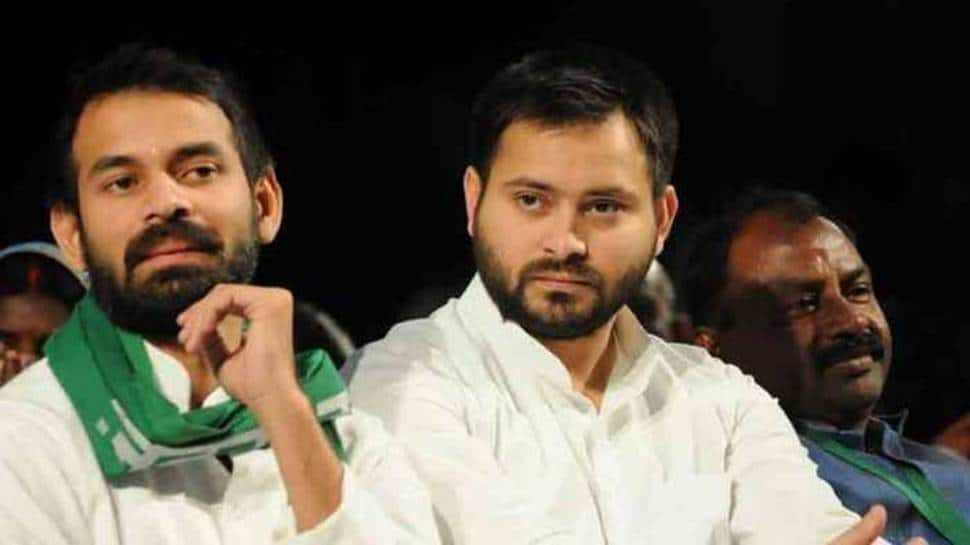 Bihar Assembly election results 2020: CM's chair is birthday gift to Tejashwi, says brother Tej Pratap