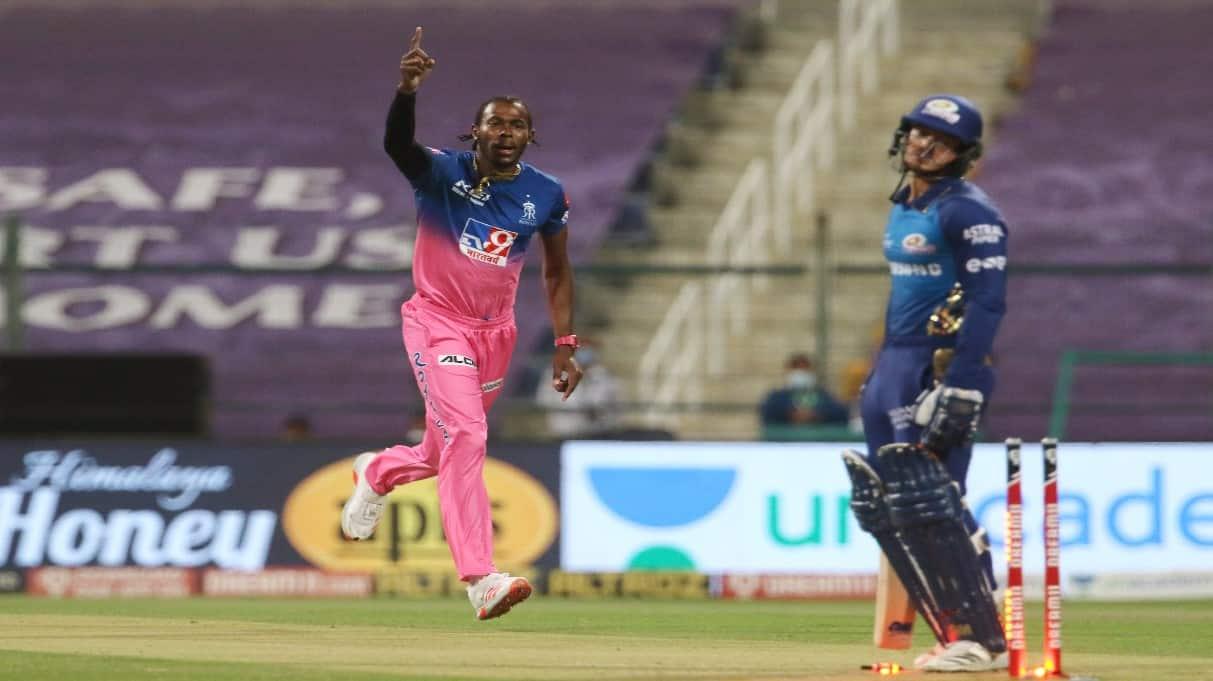 IPL 2020: Rajasthan Royals speedster Jofra Archer crowned season's Most Valuable Player