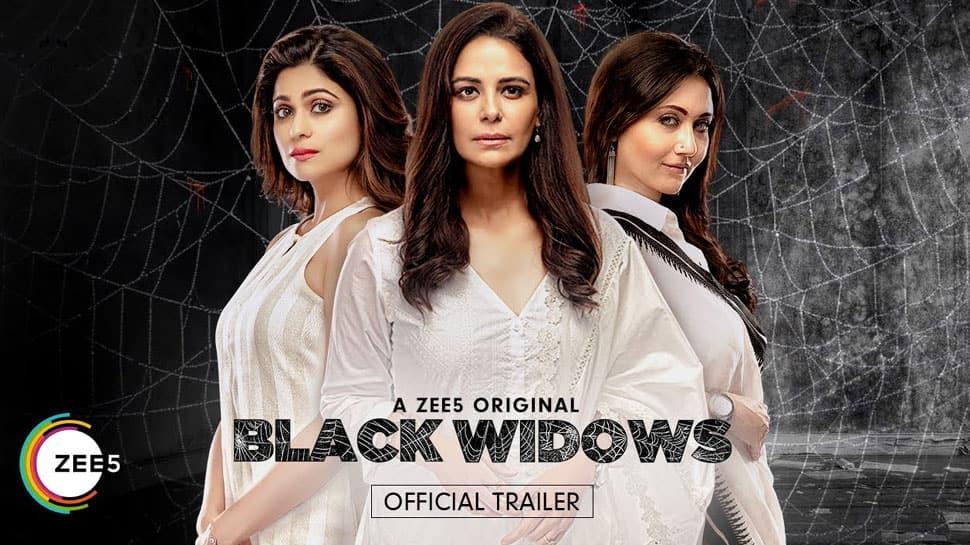 Watch Mona Singh, Shamita Shetty and Swastika Mukherjee in ZEE5's Black Widows trailer, get ready for an entertaining ride!