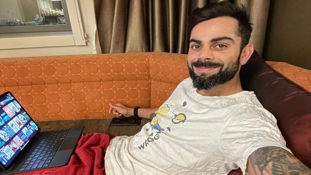 Here's how India skipper Virat Kohli is spending his quarantine days in Australia