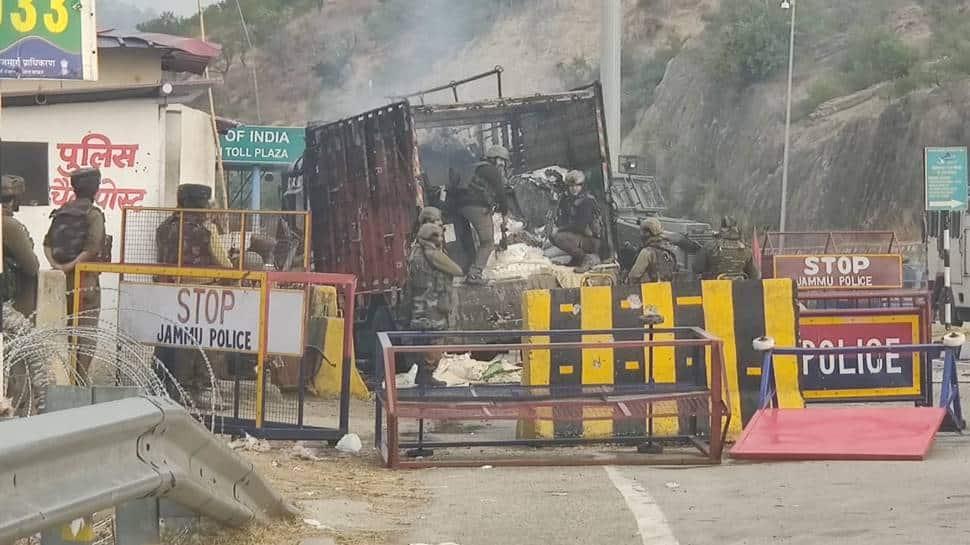 4 terrorists killed in encounter at Nagrota in Jammu and Kashmir