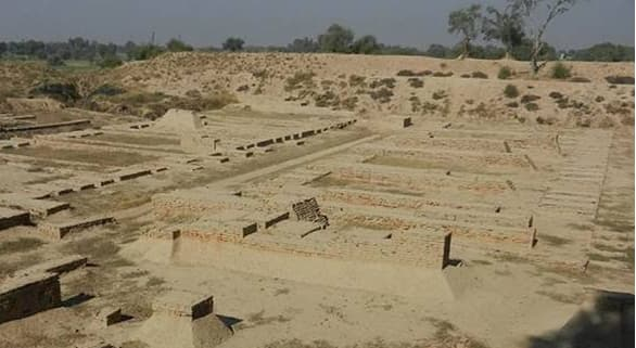 1,300 years old Hindu temple discovered at Barikot Ghundai in northwest Pakistan