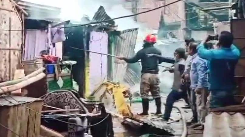 Over 10 houses gutted in Assam's Jorhat due to LPG cylinder explosion