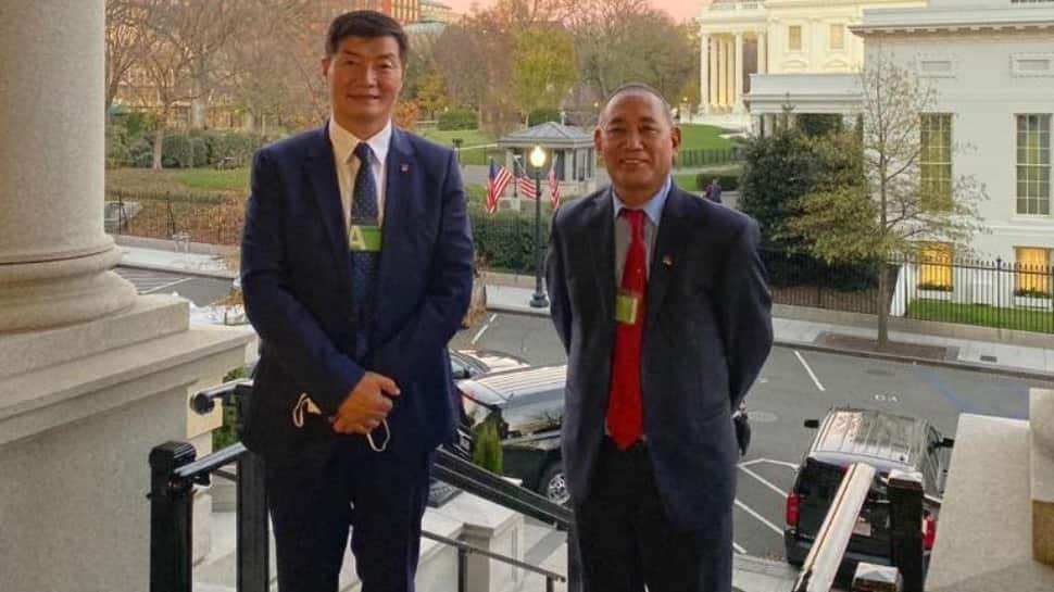 Tibetan political leader visits US White House for first time in 60 years