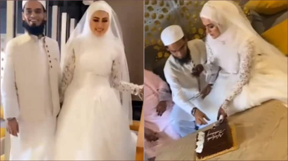 After quitting showbiz, Bigg Boss fame Sana Khan marries Mufti Anas from Surat - watch