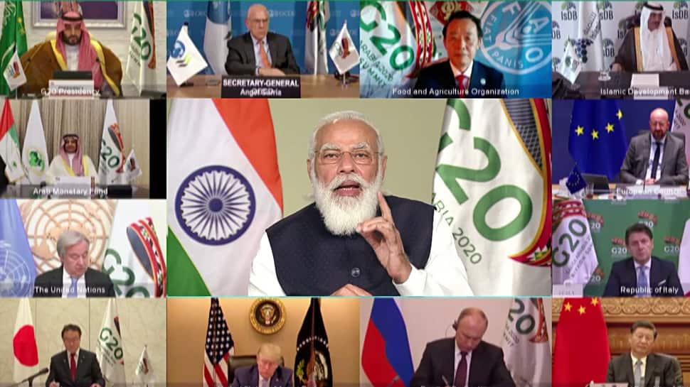 G20 summit: PM Narendra Modi terms COVID-19 biggest challenge since World War II; calls for new global index post-corona
