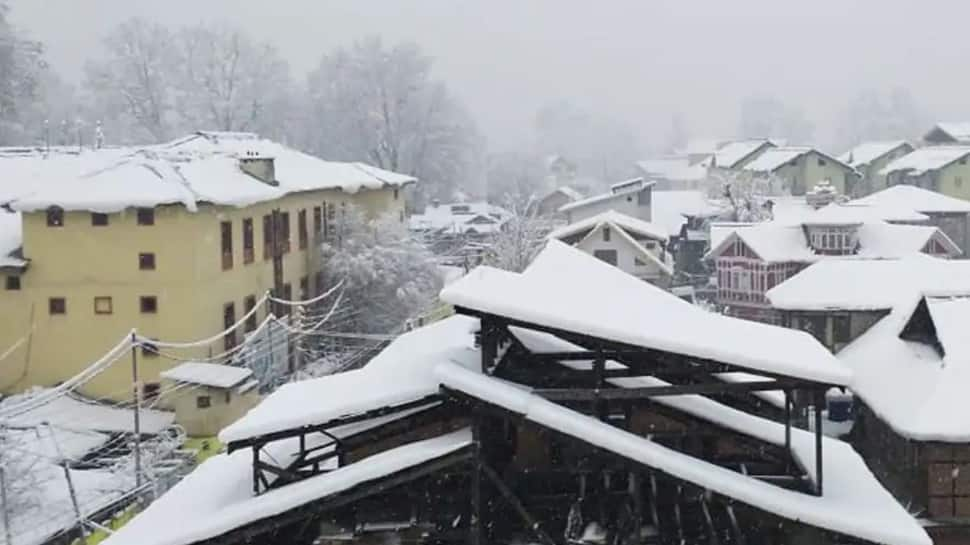Kashmir records season's coldest night on November 21, Srinagar temperature falls to minus 3.7°C