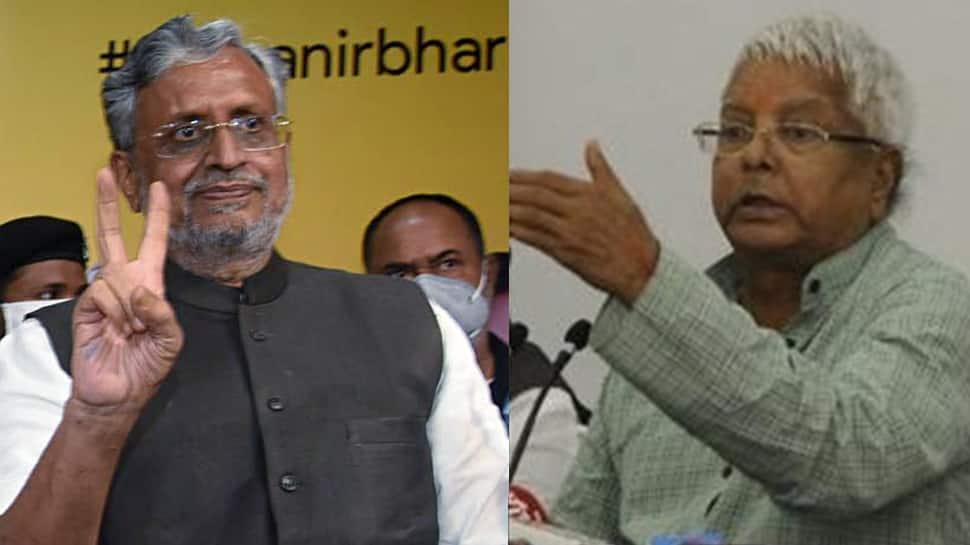 Don't do dirty tricks from jail, you won't succeed: Sushil Modi tells Lalu Prasad Yadav