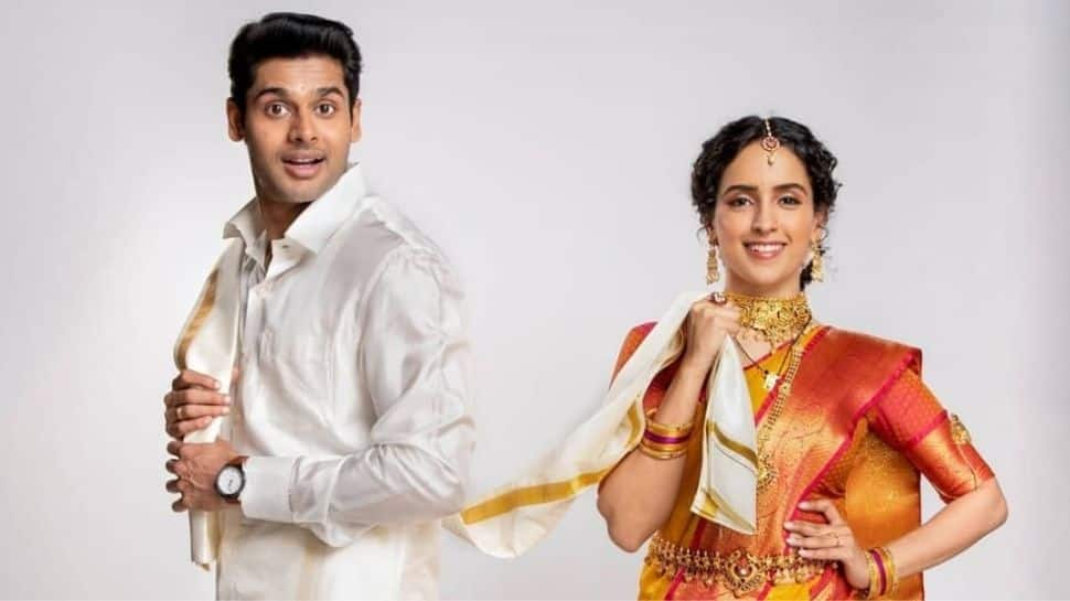 Sanya Malhotra-Abhimanyu Dassani pair-up for Netflix release 'Meenakshi Sundareshwar', first look out!