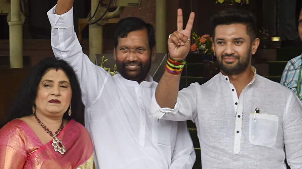 Now Chirag Paswan puts BJP in a fix again over Rajya Sabha seat, LJP makes this claim
