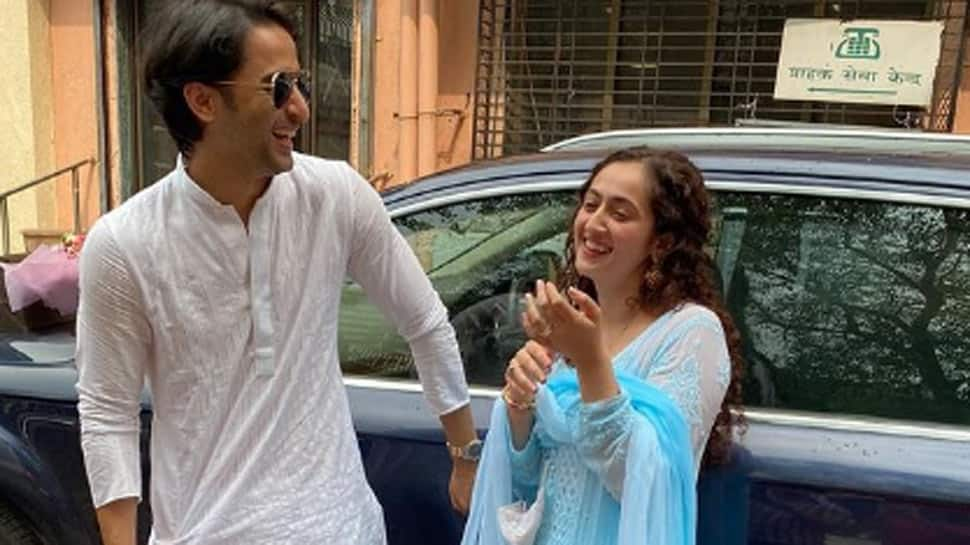 TV actor Shaheer Sheikh marries Ruchikaa Kapoor, check out stunning first pics!