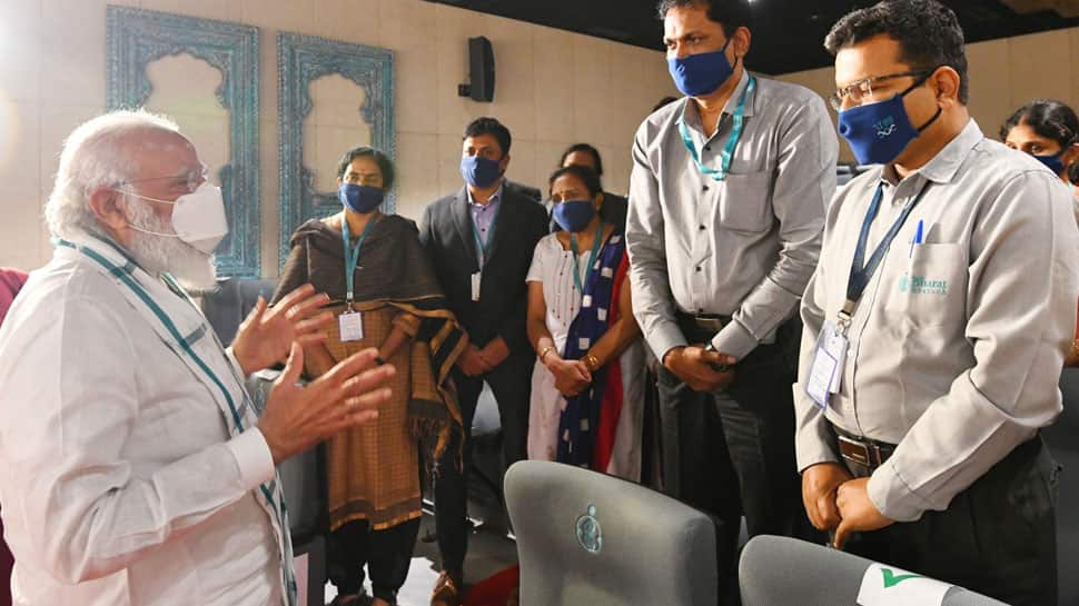 PM Modi visits Bharat Biotech facility in Hyderabad to take stock of COVID-19 vaccine development