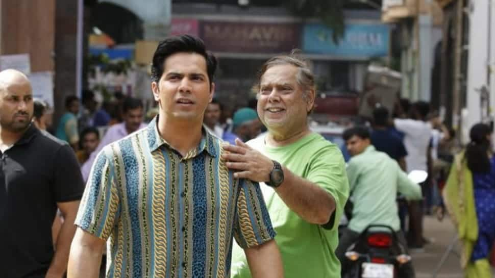 Varun Dhawan shares BTS pictures with father David Dhawan from sets of Coolie No. 1 — Watch