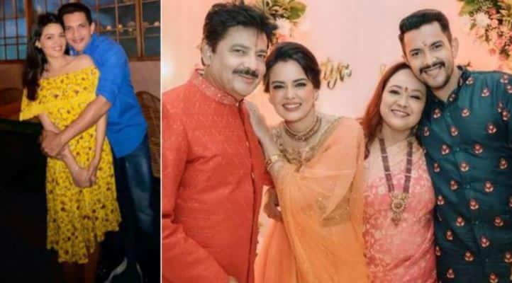 Pics from Aditya Narayan and Shweta Agarwal's pre-wedding rituals break the internet!