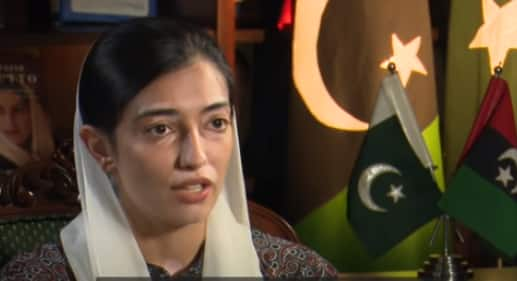 Aseefa Bhutto Zardari, Benazir Bhutto's youngest daughter, makes political debut in Multan